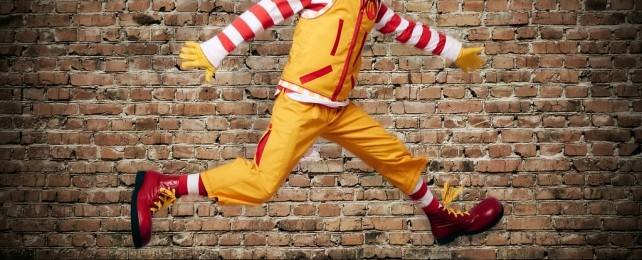 Ronald gets some new threads