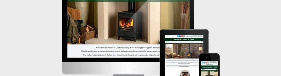 Cheshire Stoves website
