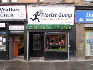 Small florist, Florist Gump has an excellent pun for their company name