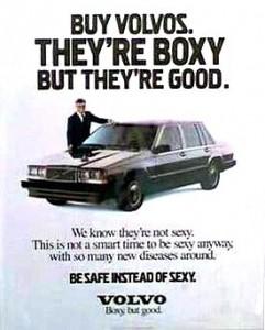 Volvos honest advertising in Crazy People