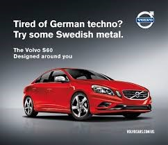 modern Volvo advert