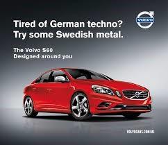 modern Volvo advert