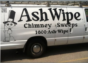 Ash wipe the punniest small business chimney sweep name
