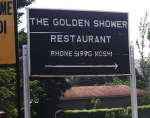 This small restaurant has chosen the oddest of SME brand names