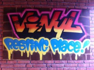 Vinyl Resting Place, the best name for a small vinyl business in Manchester