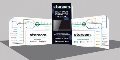 k3 Starcom <strong>Exhibition Stand Design </strong>