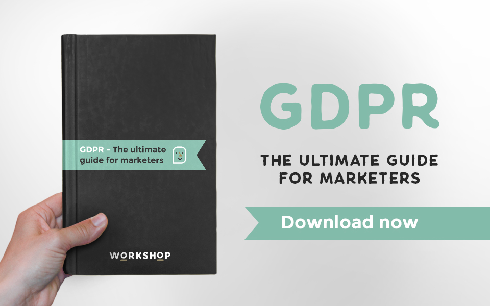 GDPR – The Ultimate Guide for Marketers  – download now!