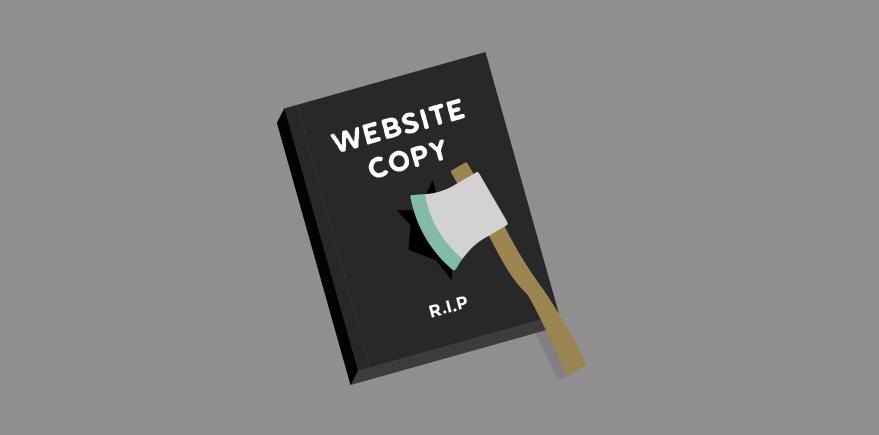 Conversion-killing copywriting: the ultimate sin