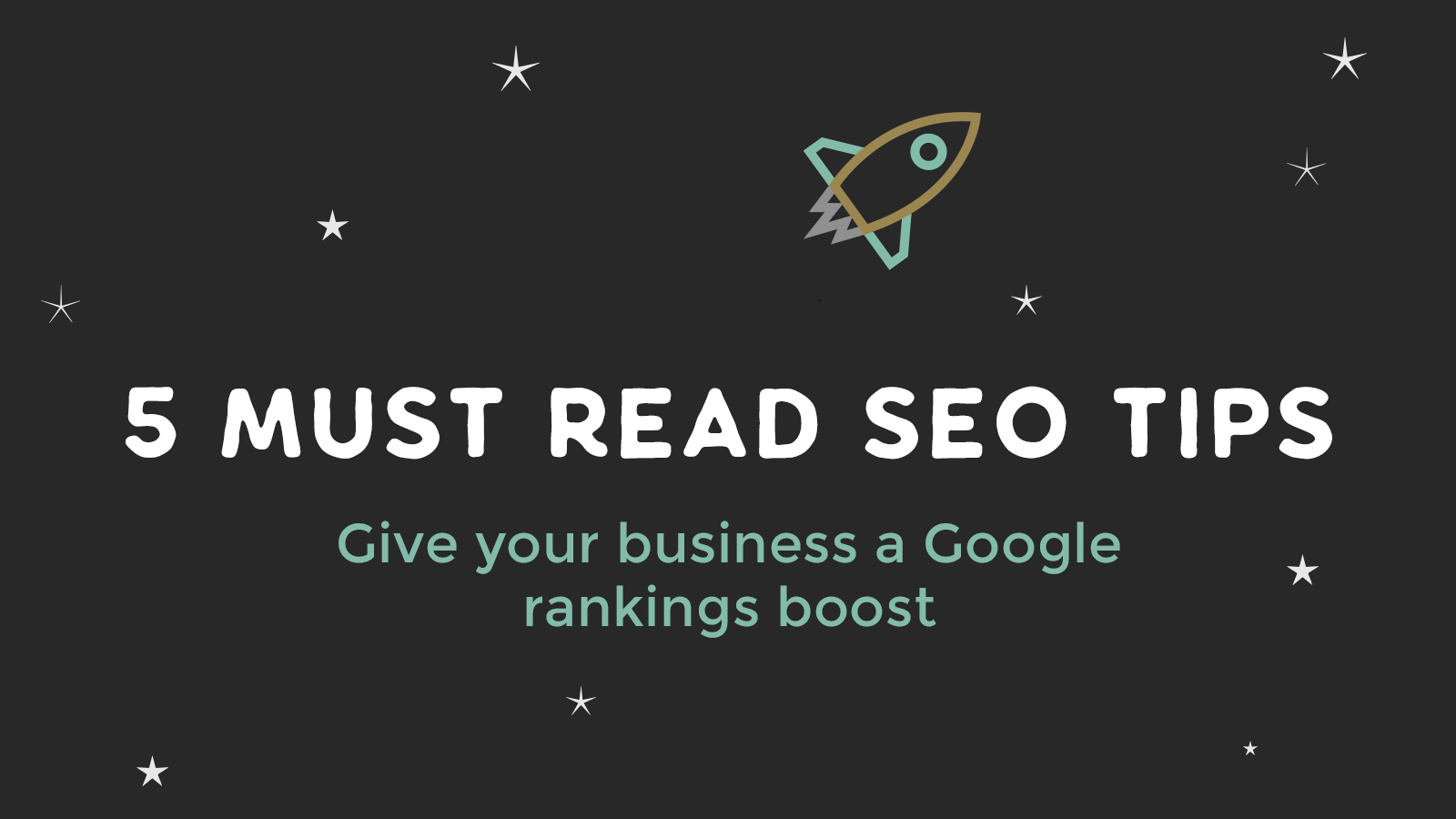 5 SEO tips to give your business a Google rankings boost