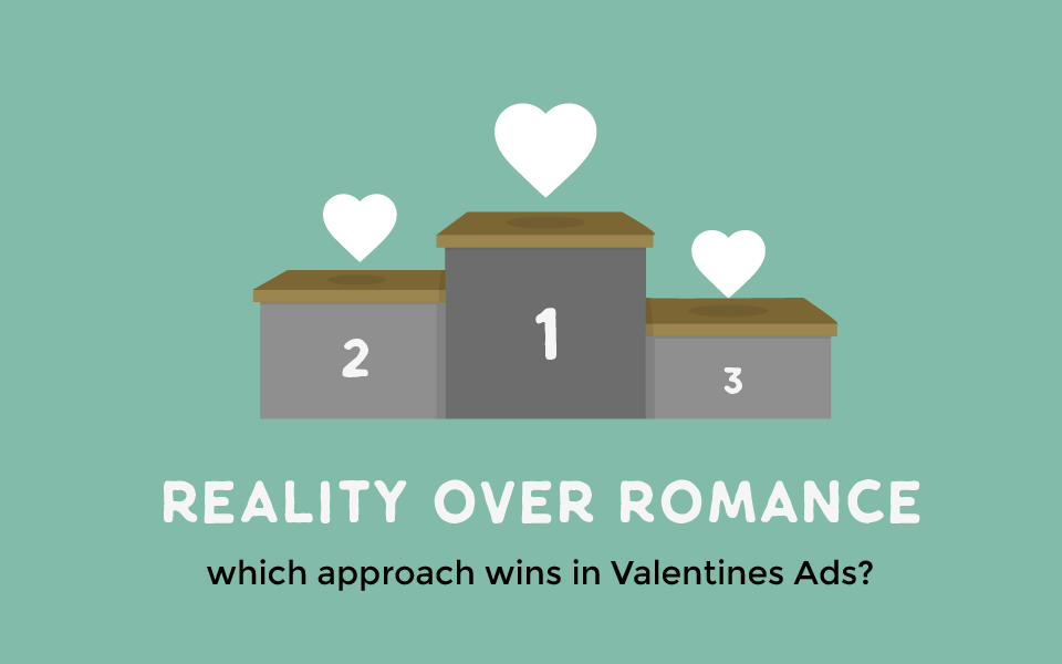 Reality over Romance: which approach wins in Valentines Ads?