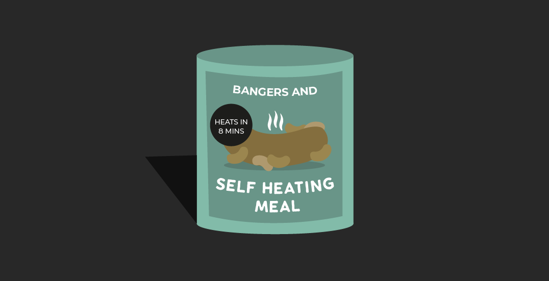 GDPR and why it's time for a self heating breakfast in a tin